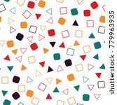 geometric abstract background ... | Shutterstock .eps vector #779963935