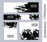 banners of different sizes with ...   Shutterstock .eps vector #779969254