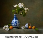 Still Life With Flowers Of...