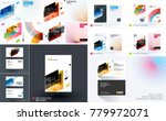 mega set of design of business... | Shutterstock .eps vector #779972071