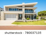 front elevation of a large...   Shutterstock . vector #780037135
