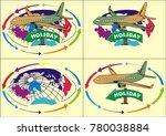 illustrations of world wide... | Shutterstock .eps vector #780038884