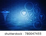 2d illustration health care and ... | Shutterstock . vector #780047455