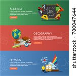 physics  geography and... | Shutterstock .eps vector #780047644