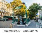 paris  france  on october 30 ... | Shutterstock . vector #780060475