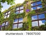 Ecological Buildings Facade...