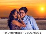 woman is whispering a secret... | Shutterstock . vector #780075031
