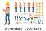electrician vector. animated...   Shutterstock .eps vector #780076855