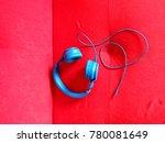 headphones in vibrant colors   Shutterstock . vector #780081649