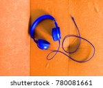 headphones in vibrant colors   Shutterstock . vector #780081661