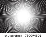abstract radial zoom speed...   Shutterstock .eps vector #780094501