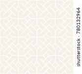 vector subtle seamless lattice... | Shutterstock .eps vector #780132964