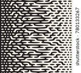 vector seamless irregular lines.... | Shutterstock .eps vector #780133267