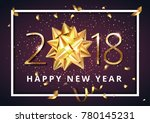 vector stock premium luxury... | Shutterstock .eps vector #780145231