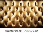 texture of padding  a gold... | Shutterstock . vector #78017752