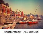 varanasi  banaras  uttar...   Shutterstock . vector #780186055
