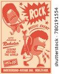 Gig Poster Template Vintage...