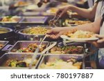 Buffet Food. Catering Food...