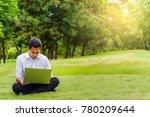 asian handsome business man or... | Shutterstock . vector #780209644