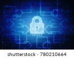 2d illustration safety concept  ... | Shutterstock . vector #780210664