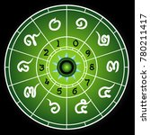 the power of numbers numerology ... | Shutterstock .eps vector #780211417