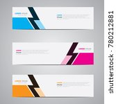 banner background.modern... | Shutterstock .eps vector #780212881