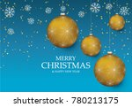 christmas light vector... | Shutterstock .eps vector #780213175