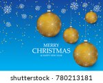 christmas light vector... | Shutterstock .eps vector #780213181