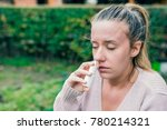 illness and sickness. closeup... | Shutterstock . vector #780214321
