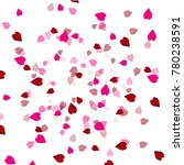 red heart image on white... | Shutterstock .eps vector #780238591