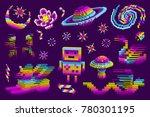 space galaxy rainbow set.the...