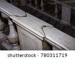 an old stone staircase. marble... | Shutterstock . vector #780311719