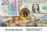 bitcoin virtual currency.... | Shutterstock . vector #780335827