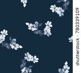 seamless summer pattern with... | Shutterstock . vector #780339109