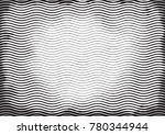 halftone engraving black and... | Shutterstock .eps vector #780344944