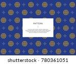 korean traditional pattern.    Shutterstock .eps vector #780361051