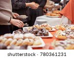 sweet table with fruits | Shutterstock . vector #780361231