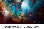high quality space background.... | Shutterstock . vector #780370891