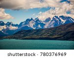 beautiful places at patagonia ... | Shutterstock . vector #780376969