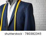 semi ready suit on mannequin...   Shutterstock . vector #780382345