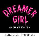 slogan graphic for t shirt | Shutterstock . vector #780383545
