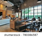 blurred picture of coffee shop... | Shutterstock . vector #780386587