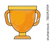 trophy cup icon | Shutterstock .eps vector #780392959