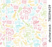 music school for kids vector... | Shutterstock .eps vector #780396439