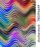 colorful wavy background... | Shutterstock . vector #780396649