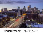 a wide angle long exposure shot ... | Shutterstock . vector #780416011