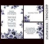 vintage delicate invitation... | Shutterstock .eps vector #780420349