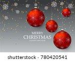 christmas light vector... | Shutterstock .eps vector #780420541