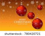 christmas light vector... | Shutterstock .eps vector #780420721