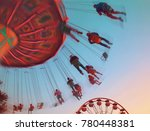 public state fair swinging ride ... | Shutterstock . vector #780448381